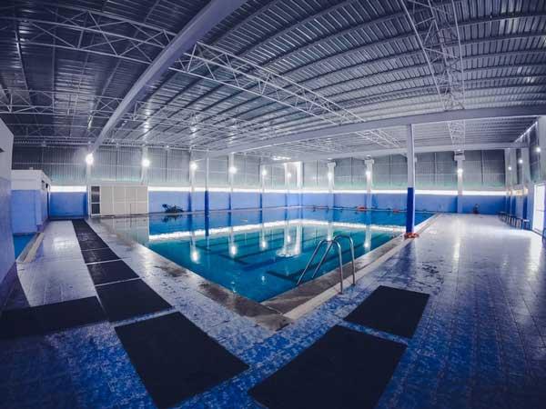 Pool, gym and spa